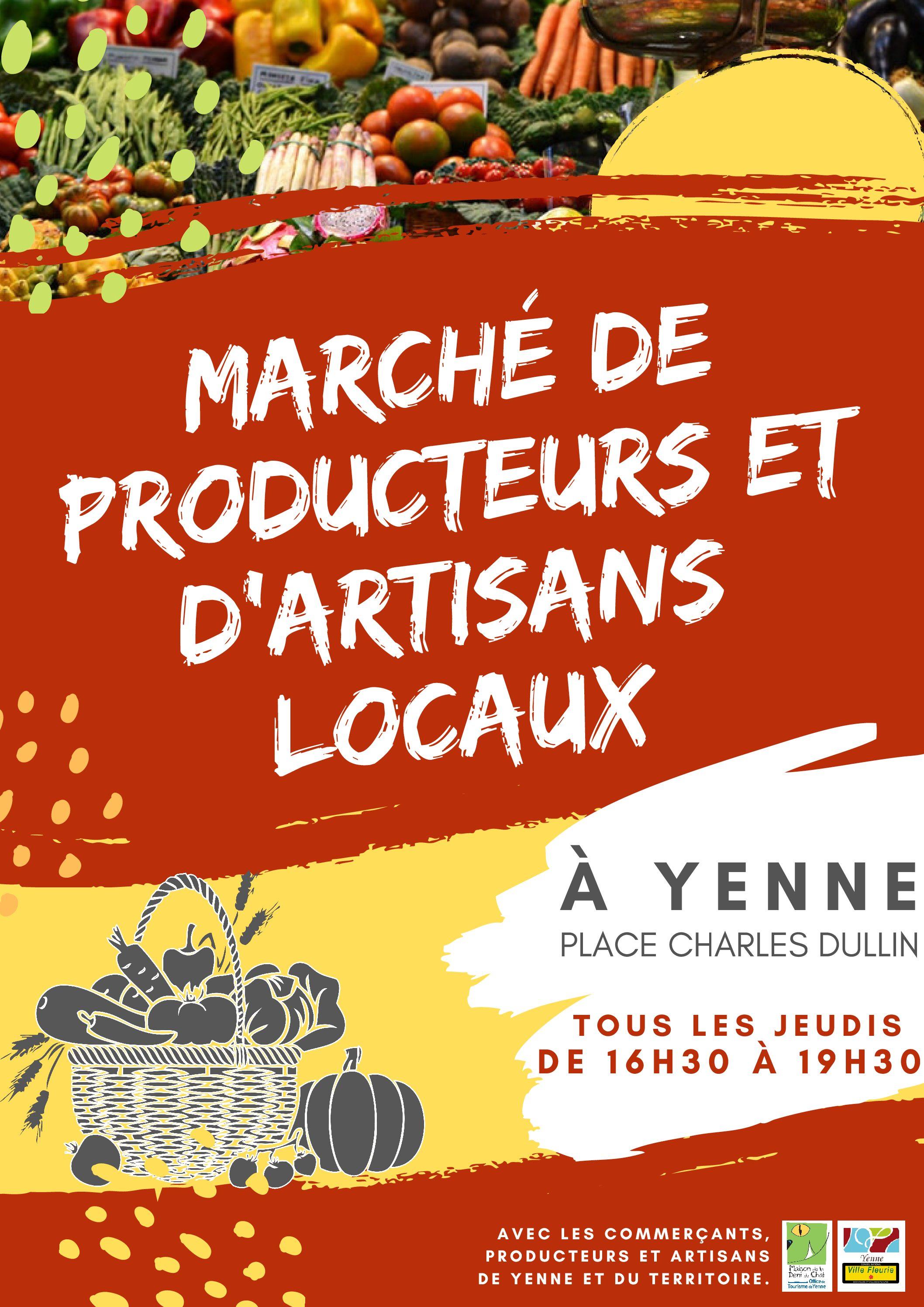 Venez découvrir un nouveau marché de producteurs dans l'avant pays !