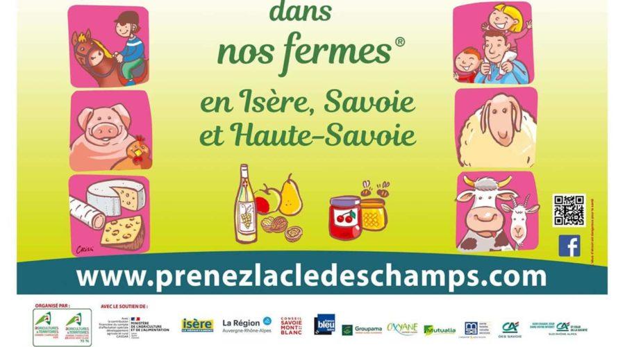 Prenez la Clé des Champs – Savoie Mont Blanc – 1er et 2 mai 2021