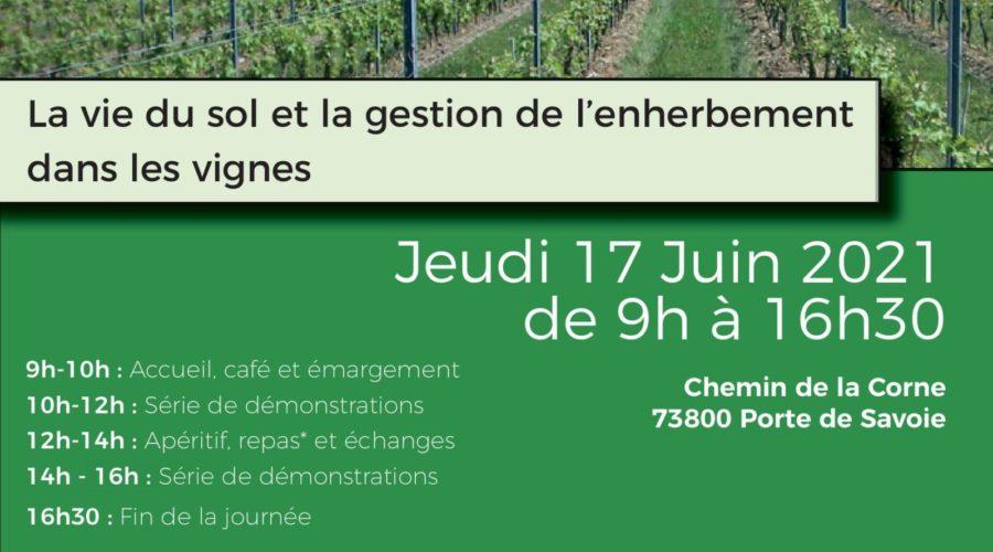 Journée InterDépartementale des CUMA – jeudi 17 juin – Porte de Savoie