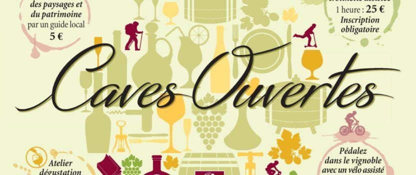 Caves Ouvertes – Vignoble de Jongieux, les 03 et 04 juillet 2021 !