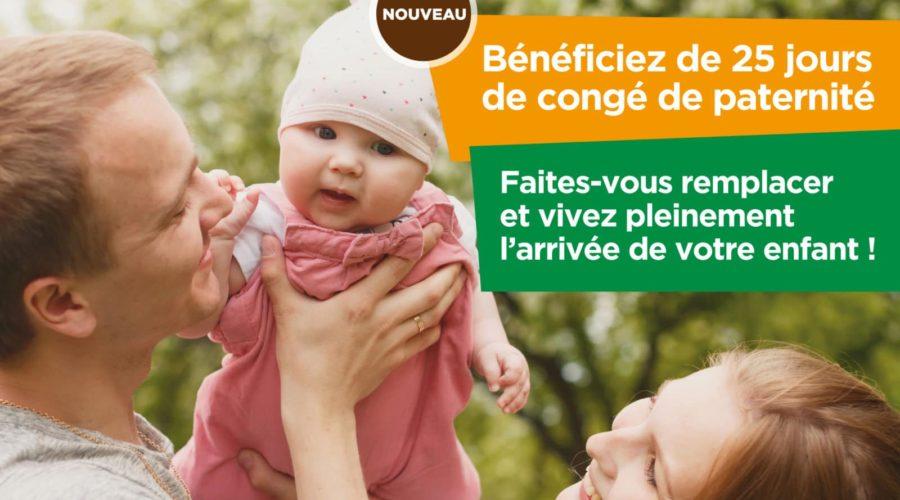 Agriculteur & bientôt papa? –> Contactez le Service de Remplacement du Rhône au Guiers!